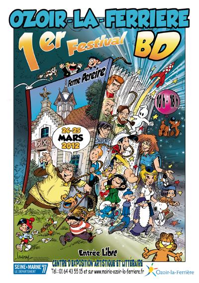 1er Festival BD d'Ozoir 24 et 25 mars