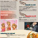 programme festival BD langeac - Terre de Bulles 2014