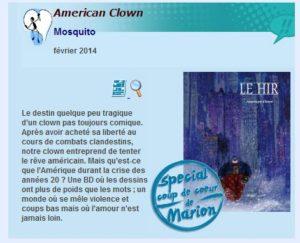 coup de coeur American Clown