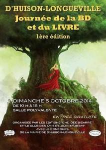 journée de la BD et du livre D'Huison - Longueville