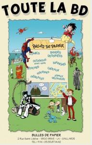 librairie BULLES DE PAPIER
