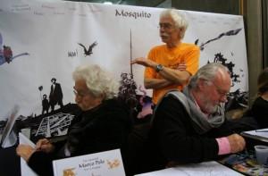 Bedeciné 2014 - Serpieri - Lele Vianello - Michel Jans - Stand mosquito