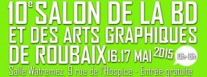 10e édition du Salon de la BD et des Arts graphiques de Roubaix