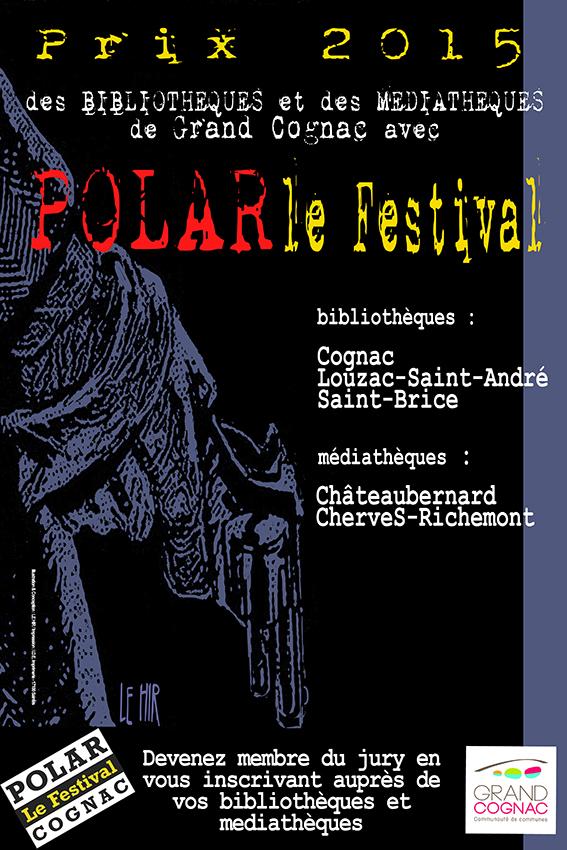 affiche 2015 Festival de Polar de Cognac