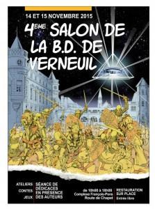 4ème salon BD de Verneuil sur Seine