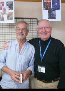 François Dimberton et Jack Chaboud à d'Huison Longueville