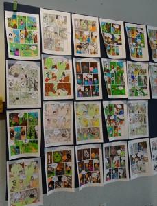 Hansel-et-Gretel----mise-en-couleur-par-les-eleves-de-cm2---ecole-Jean-XXIII---Mulhouse