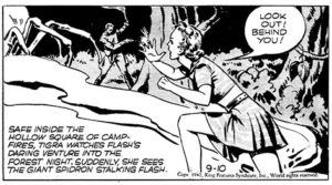 Flash-Gordon---Austin Briggs---1942 Queen Tigra of Forestia
