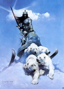 Frank Frazetta - Silver Warrior