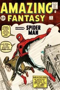 amazing-fantasy-15-dessin de Jack Kirby