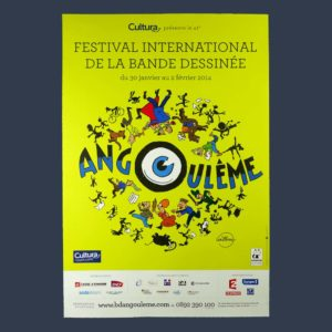 affiche Angouleme 2014